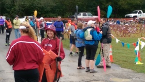 Harpeth Hustle - gathering for the start